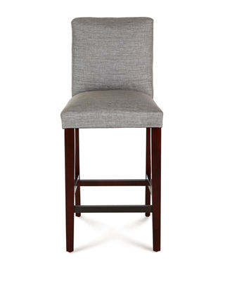 Image 3 of 4: Marcy Pleated Bar Stool