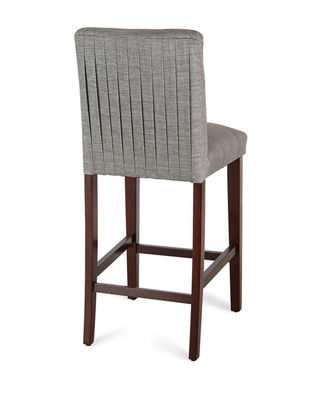 Image 4 of 4: Marcy Pleated Bar Stool