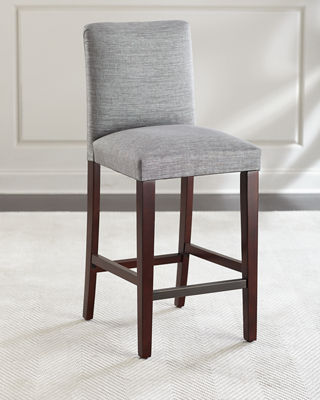 Image 1 of 4: Marcy Pleated Bar Stool