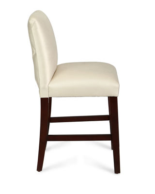 Image 2 of 4: Alain Diamond-Tufted Counter Stool