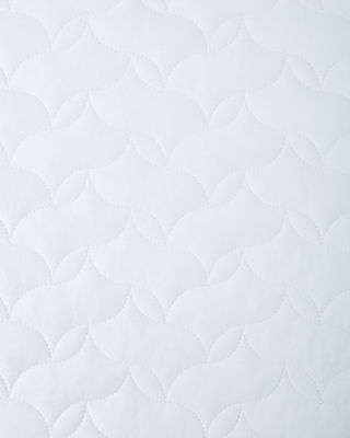 Image 2 of 2: Full/Queen Quilted Percale