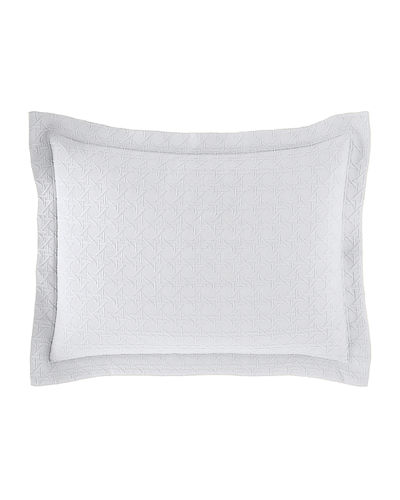 SFERRA Standard Marcus Collection Cane Matelasse Sham