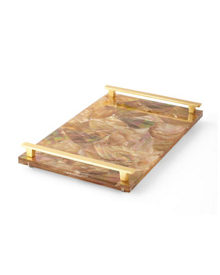 "Image 3 of 4: Stone Slab Tray, 16"" x 10"""