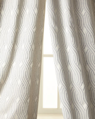 Isabella Collection by Kathy Fielder Isabella Collection Astor Curtain, 108l