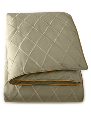 Image 2 of 2: Queen Diamond-Trellis Duvet Cover