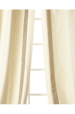 "Eastern Accents Folly Curtain, Right Panel, 48""W x 108""L Each"
