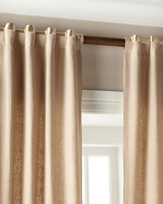 Home Silks Hudson Metallic-Band Curtains & Matching Items