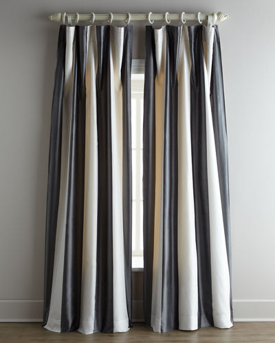 "Each Hampton Curtain, 120""L"