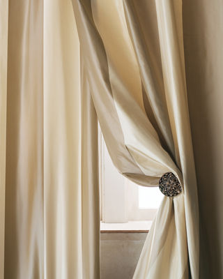 Home Silks Each Hampton Curtain, 120
