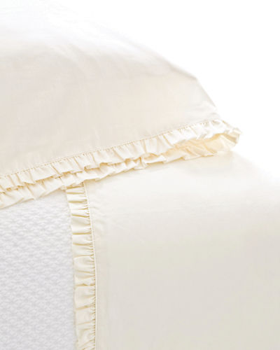 Queen 200 Thread-Count Classic Ruffle Sheet Set