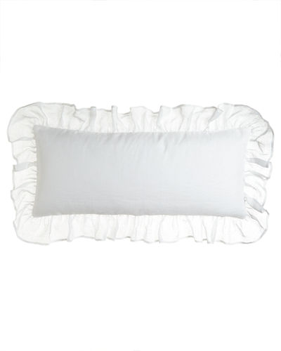 Pine Cone Hill Savannah Ruffled Double Boudoir Pillow,