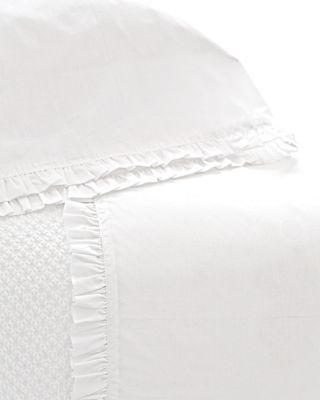 Pine Cone Hill King 200 Thread-Count Classic Ruffle