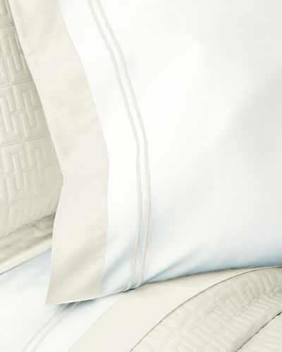 Home Treasures Two Standard Marco Pillowcases