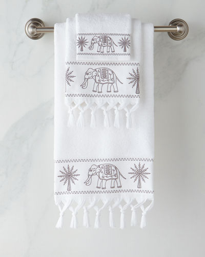 John Robshaw Yaji Bath Towels