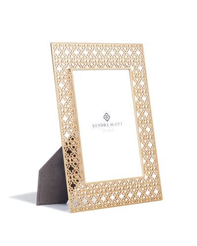 "Kendra Scott Filigree Picture Frame, 4"" x 6"""