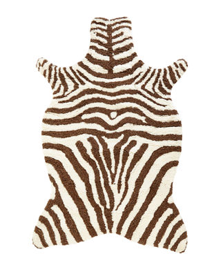 Loloi Rugs Lilly Zebra Shag Rug & Matching