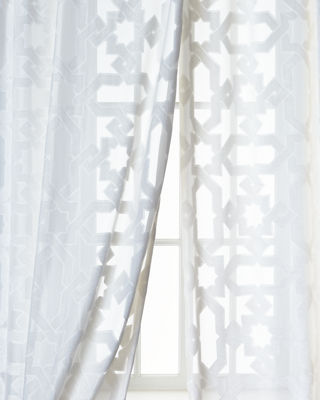 Dian Austin Couture Home Urban Cut Curtain, 84