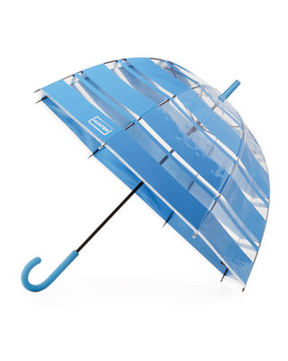 Hunter Boot Transparent Moustache Bubble Umbrella
