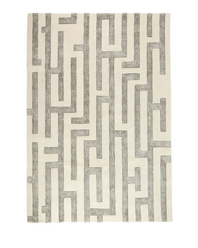 Elias Hand-Tufted Rug, 6' x 9'