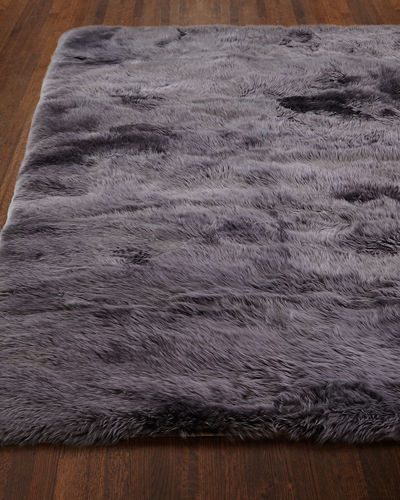 Exquisite Rugs Effie Sheepskin Rug, 8' x 11'