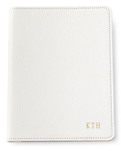 "Graphic Image Leather 9"" Notebook, Personalized"