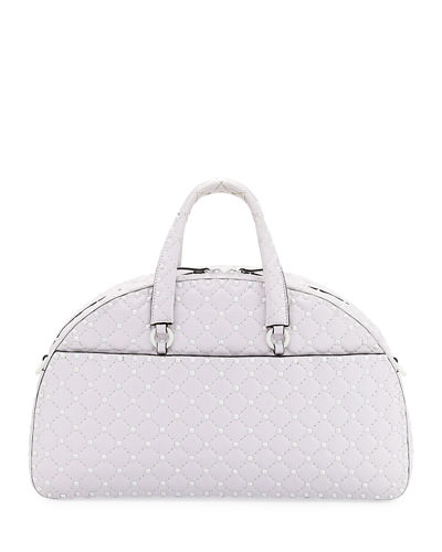229f6724f5a0 Valentino Garavani Rockstud Quilted Zip-Around Bowling Bag from ...