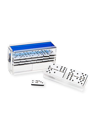 Image 1 of 3: El Catire Domino Set w/ Racks
