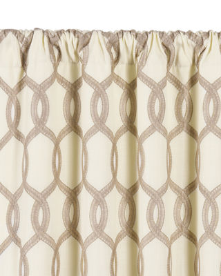 Eastern Accents Gresham Rod Pocket Curtain Panel, 108