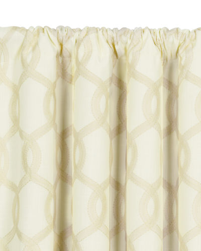 "Gresham Rod Pocket Curtain Panel, 96""L"