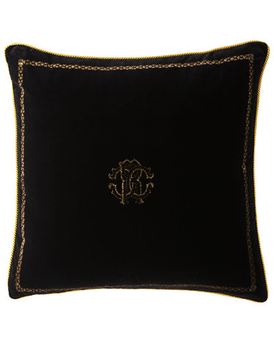 "Venezia Cushion, 27""Sq."