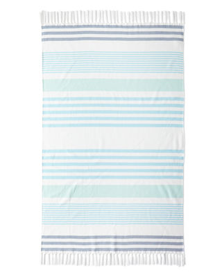 Kassatex Sonia Stripe Beach Towel