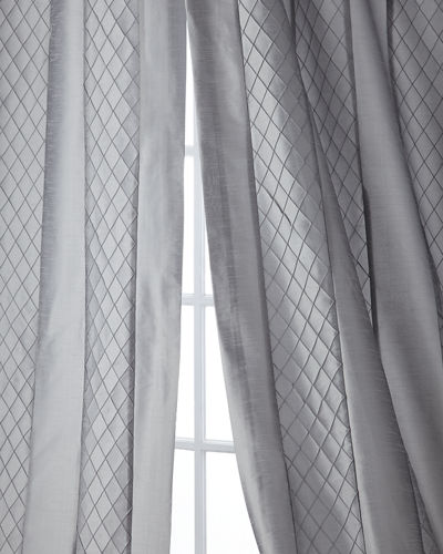 "Montana Stripe Curtain Panel, 108""L"