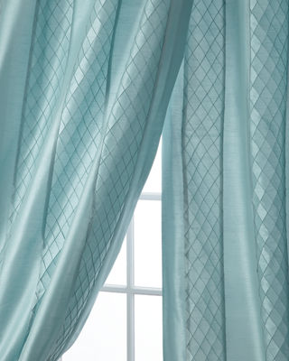 Home Silks Montana Stripe Curtain Panel, 96