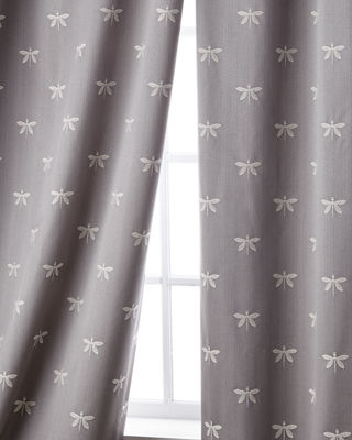 """Sweet Dreams Imperial Dragonfly Curtain, 96""""L"""