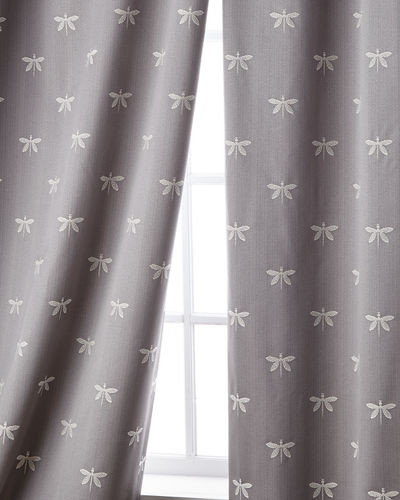"Imperial Dragonfly Curtain, 108""L"