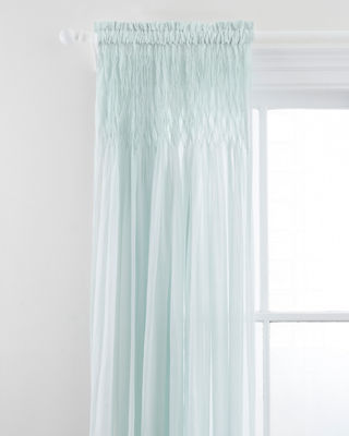Pine Cone Hill Heirloom Voile Curtain Panel, 96