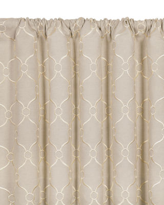 Eastern Accents Theodore Rod Pocket Curtain Panel, 96