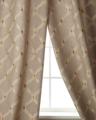 "Brilliant Linen/Cotton Drape, 96""L"
