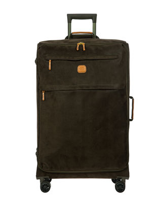 LIFE COLLECTION 30-INCH WHEELED SUITCASE - GREEN