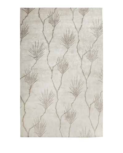 Exquisite Rugs Palm Hand-Knotted Rug, 8' x 10'