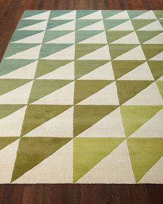 Image 1 of 3: Fun Tiles Hand-Tufted Rug, 8' x 10'