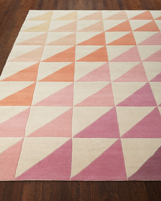 Fun Tiles Hand-Tufted Rug, 9' x 12'