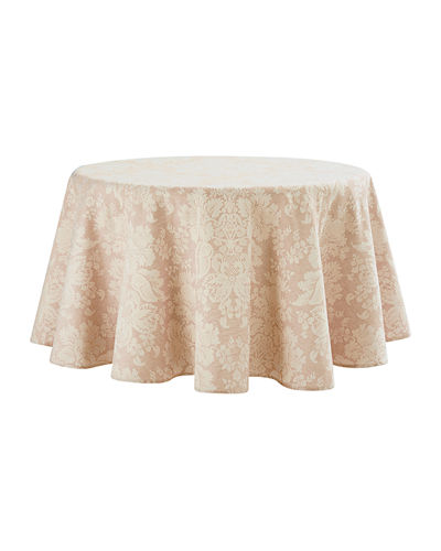 "Berrigan Round Tablecloth, 90""Dia."