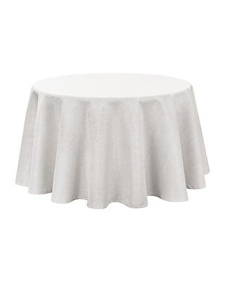 "Moonscape Round Tablecloth, 70""Dia."