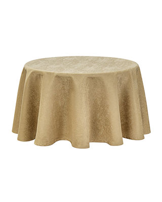 Waterford Moonscape Round Tablecloth, 90