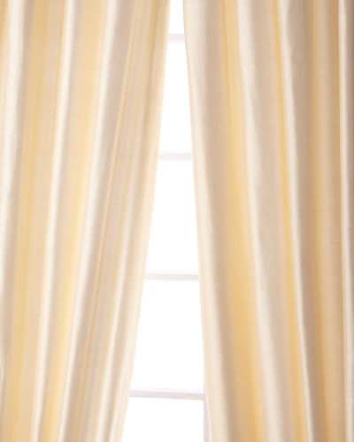 "Sweet Dreams Palace Silk Curtain, 90""L"