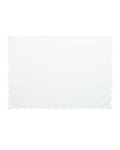 Scallop Trim Placemats, Set of 4