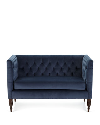 Image 4 of 5: Erika Tufted Settee