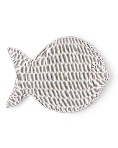 Wicker Fish Placemat