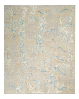 Image 1 of 2: Tranquilite Hand-Knotted Rug, 10' x 14'